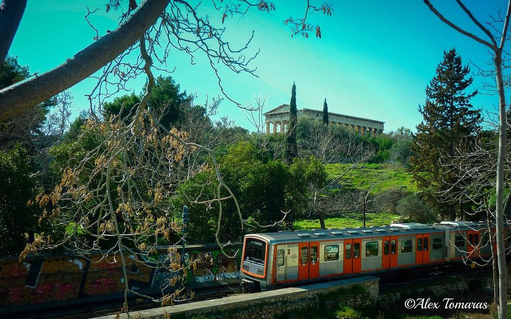 The train to Piraeus