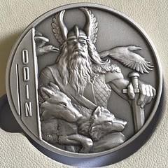 Wastweet medal Odin obverse