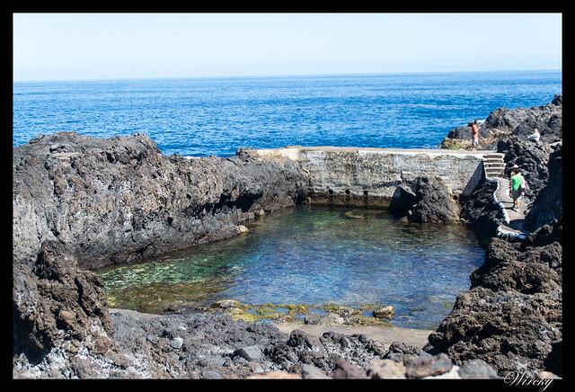 Garachico roque piscinas naturales caleton - Piscinas naturales en Garachico El Caletón