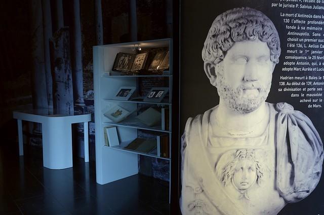 Exhibition: Marguerite Yourcenar et l'empereur Hadrien, une réécriture de l'Antiquité – Bavay (France)