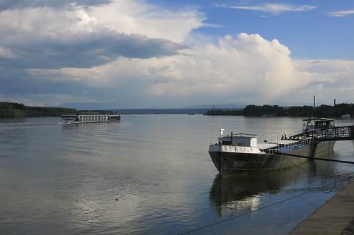 river boat bulgaria danube donau vidin река българия дунав видин