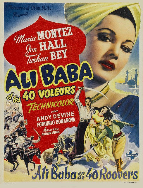 Ali Baba and the Forty Thieves - Poster 2