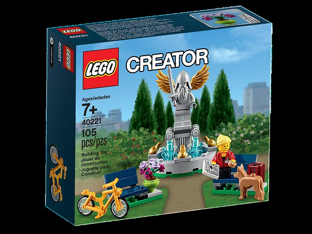 LEGO Creator 40221 - Fountain