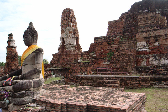 2007092006 - Ayutthaya(Wat Phra Mahathat)