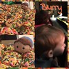 May 25: Blurry - A blurry set of cookies, a blurry Flynn Rider trying to steal cookies, and a blurry little Ryder watching Sesame Street Live today! #day25 #May #spring2016 #fmsphotoaday #photochallenge #tsumtsum #tangled #flynnrider #fms_blurry #sesamest