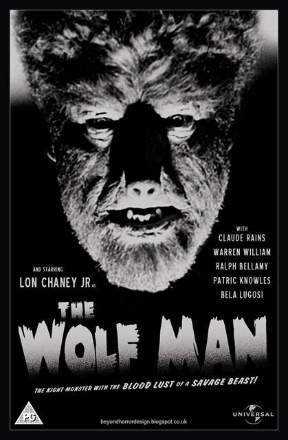 THE-WOLF-MAN-1941-POSTER-Beyond-Horror-Design
