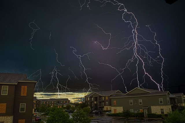 A recent hdr shot I took of the storms we're having here in San Antonio, TX.