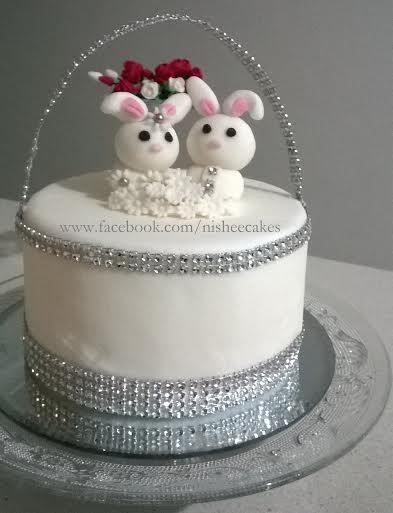 Cute Bunny Cake by Nishani Dewaraja of Nishee Cakes 2