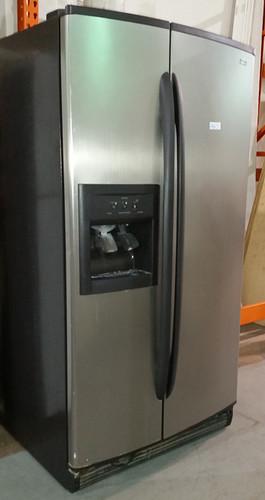 Stainless fridge $350