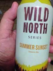 Beersperiment: Wild North Summer Sunset (Baysville, Ont) @halyma: 1* me: 1*