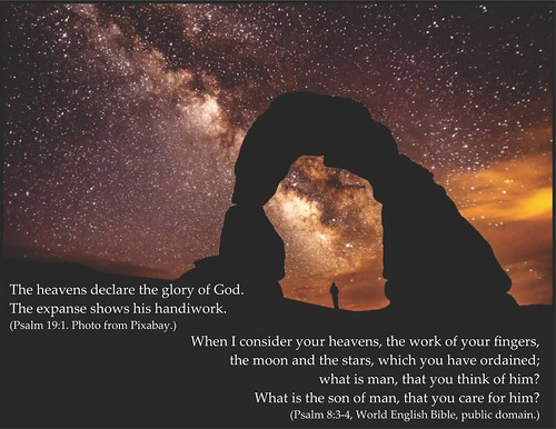 God revealed through the Milky Way