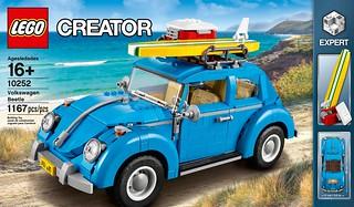 【完整官圖、販售資訊更新】LEGO® 10252 CREATOR 系列【福斯金龜車】Volkswagen Beetle