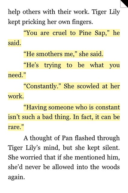 Tiger Lily Quote