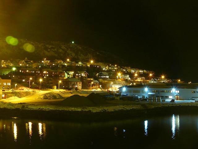 Escale nocturne à Skjervøy