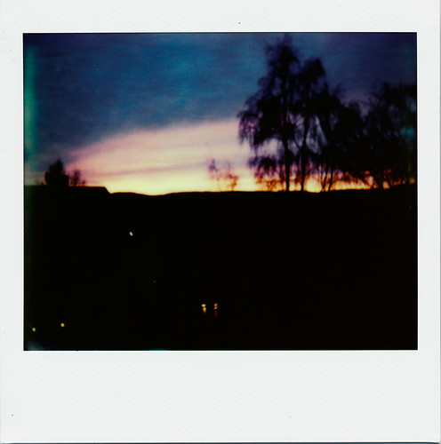 May evening sky