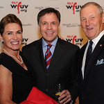 WFUV Gala 2013: Bob Costas with Jim and Margie Kaat