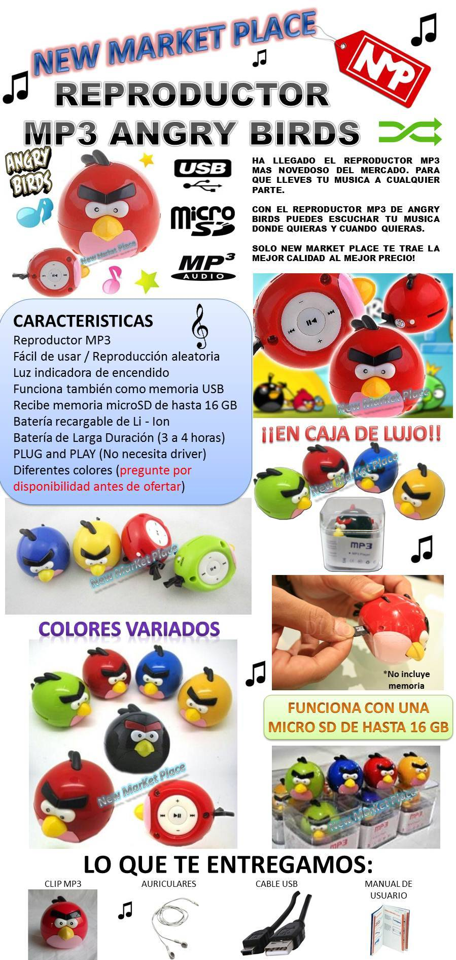 MP3 ANGRY BIRDS