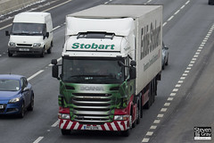Scania R440 6x2 Tractor - PF12 OYN - Rosemary Katherine - Eddie Stobart - M1 J10 Luton - Steven Gray - IMG_7504