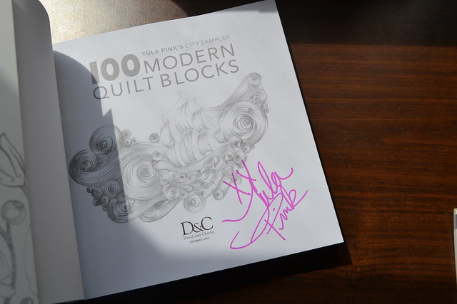 100 Modern Quilt Blocks Signed