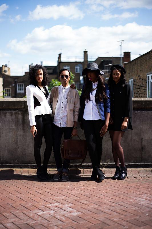 Street Style - Anita, Hayden, Jacqui, Patricia, Graduate Fashion Week
