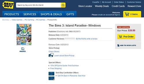 Island Paradise Best Buy