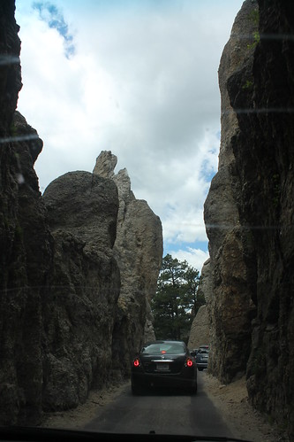 narrow mountain road