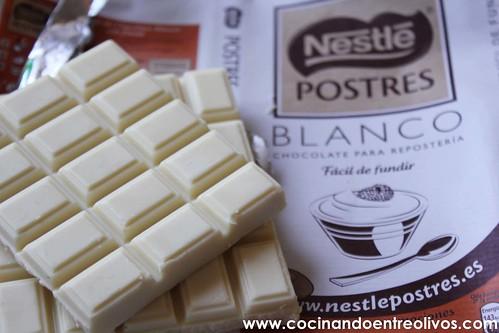 Baño Blanco Para Galletas:Tarta de queso, chocolate blanco y frambuesas wwwcocinandoentreolivos