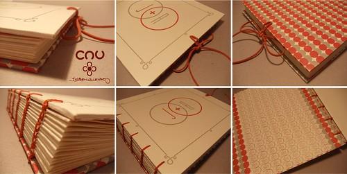 Caderno de Assinaturas Juliana & André by cau.feito.a.mão