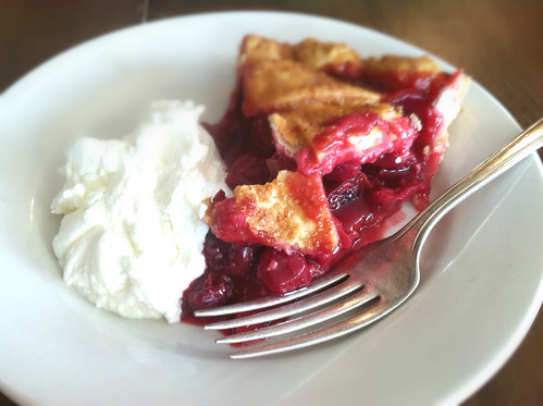 Sour Cherry Pie from Four and Twenty Blackbirds