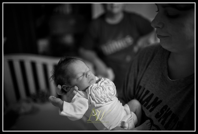 Rochester NY Newborn Family Portrait Photographer Andrew Welsh