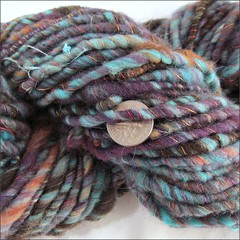 Carnaval handspun, close up