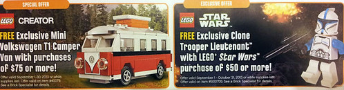 LEGO September Offers