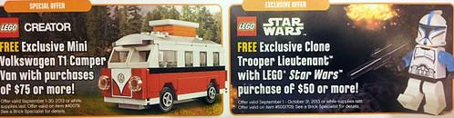LEGO September Offers