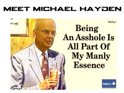 MEET MICHAEL HAYDEN by WilliamBanzai7/Colonel Flick