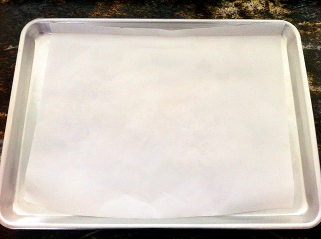 Lined Half Sheet Pan
