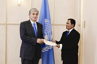 NEW PERMANENT REPRESENTATIVE OF TIMOR-LESTE PRESENTS CREDENTIALS TO DIRECTOR-GENERAL OF UNOG