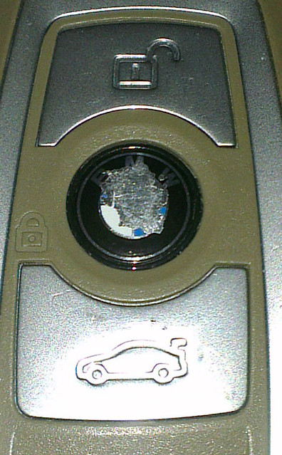 Logo rubbing off key fob - BMW 3-Series and 4-Series Forum