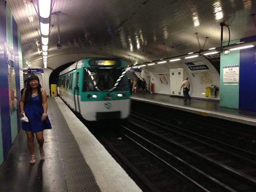 Metro Station Pyramides