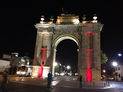 Arco de la calzada León Guanajuato  México