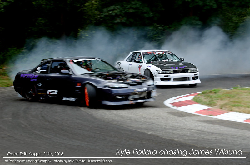 PARC Drift 8-11-2013 - Tandem James and Kyle