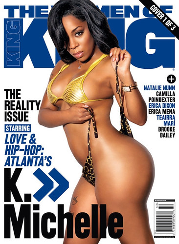 K Michelle King Magazine Pictures