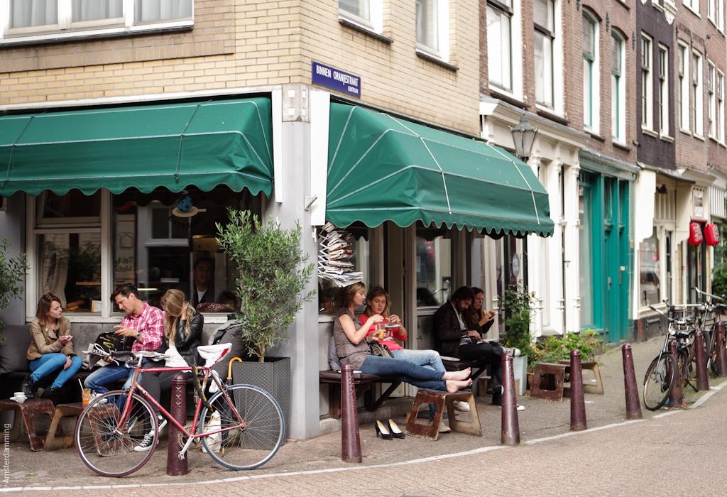 Amsterdam, Small World Catering near Haarlemmerdijk