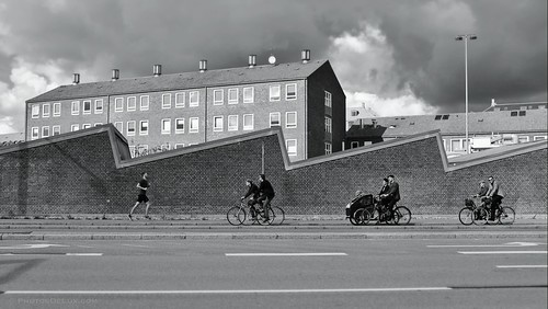 Copenhagen - Bike and Run City - Fuji X100S