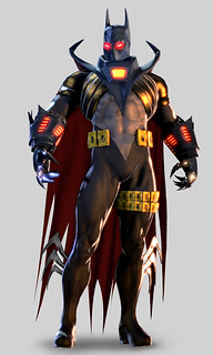 Batman Arkham Origins: Knightfall Batman skin