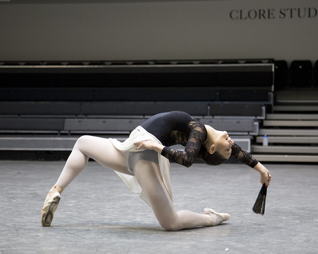 Roberta Marquez  in rehearsals for Don Quixote © ROH / Andrej Uspenski 2013