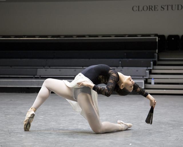 Roberta Marquez  in rehearsals for Don Quixote © ROH / Andrej Uspenski 2013