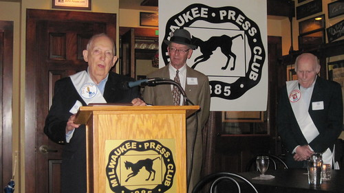 Bob Wills was honored as a Knights of the Golden Quill at our Annual Meeting on Sept. 19, 2013.