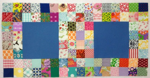 Postage Stamp Border Blocks