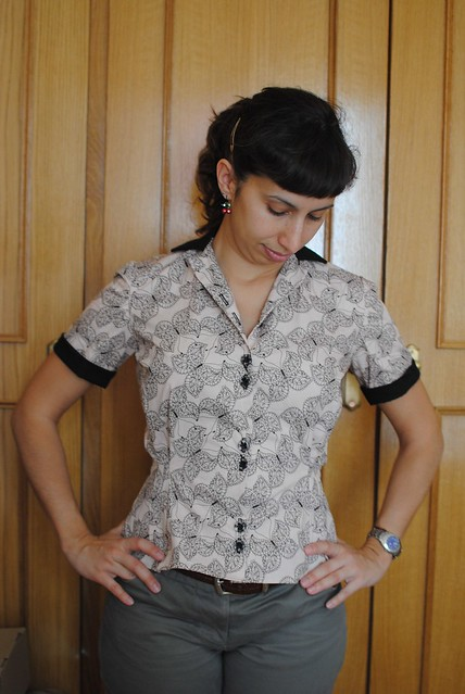 My Nemesis Blouse (Fall for Cotton)