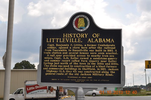 History of Littleville, Alabama